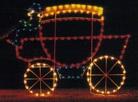 5' Animated Carriage