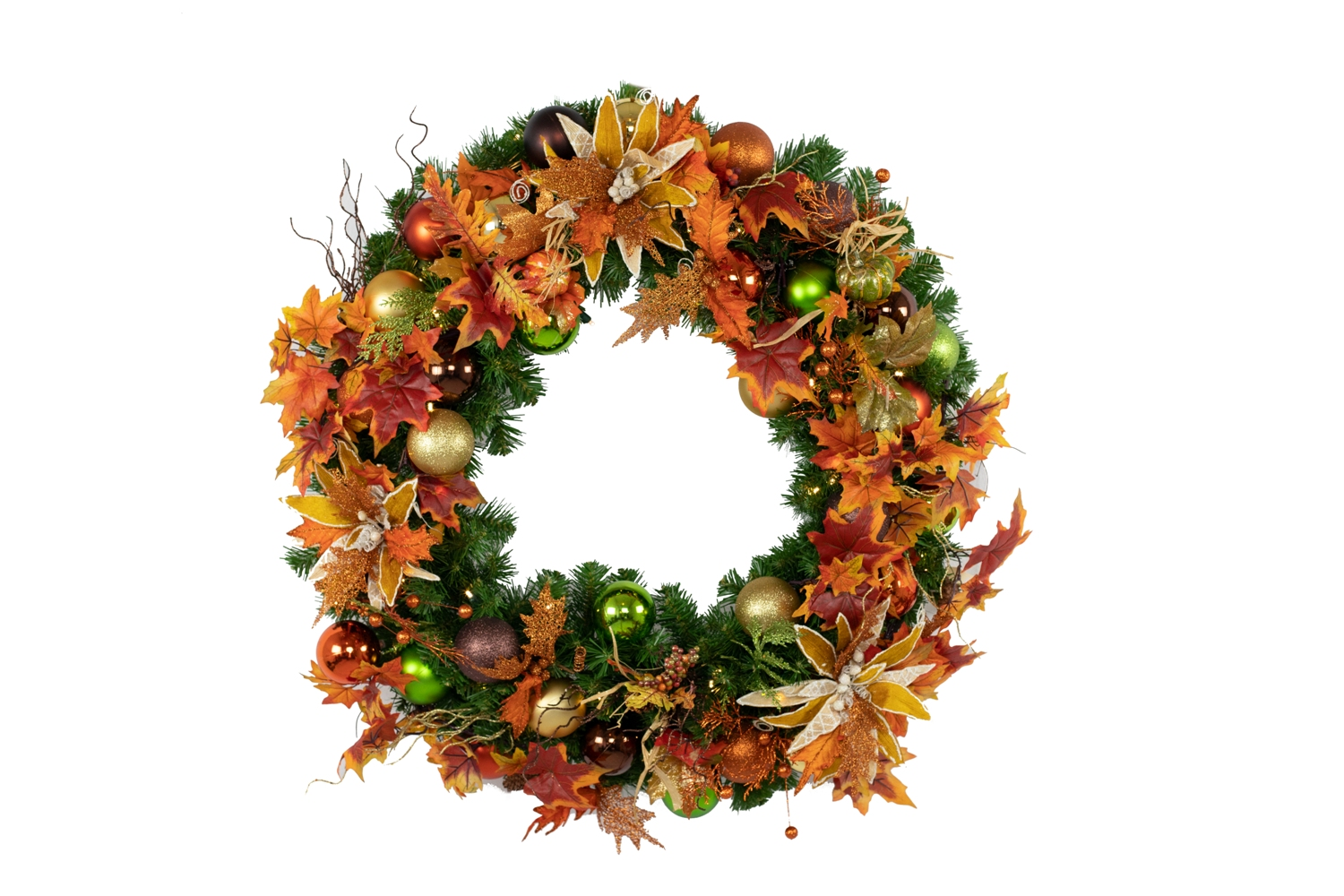 3' Decorated Fall Wreath