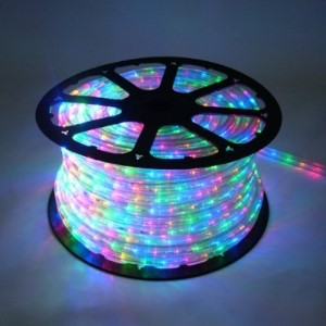 C-ROPE-LED-4M-1-10   - 10MM 150' spool of Multi Colored LED Ropelight