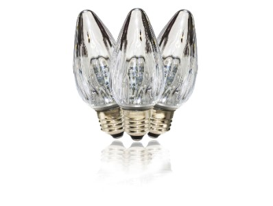 F50 Non-Dimmable Pure White Commercial Retrofit Bulb with an E26 Base and 10 Internal LED Chips