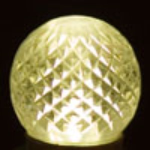 G30 Non-Dimmable Warm White Commercial Retrofit Bulb with an E17 Base and 5 Internal LED Chips