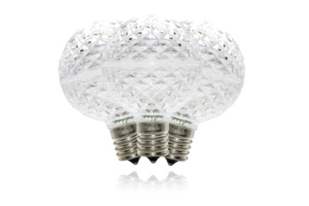 G50-RETRO-PW - G50 Non-dimmable Pure White Commercial  Retrofit bulb with an E17 base and 5 Internal LED Chip