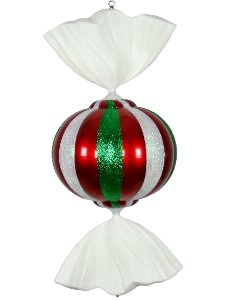 WL-CDY-36-RGW - 3' Red, White and Green Peppermint Candy