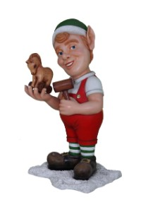 WL-ELF-TOY-04 - 4' Tall Elf Building toy
