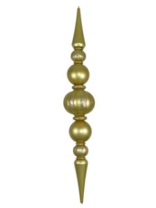 8' Giant Shatterproof Gold Finial
