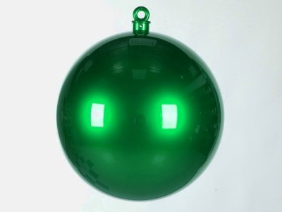 WL-ORN-BALL-600-GR - 600MM Ball Ornament Green Smooth