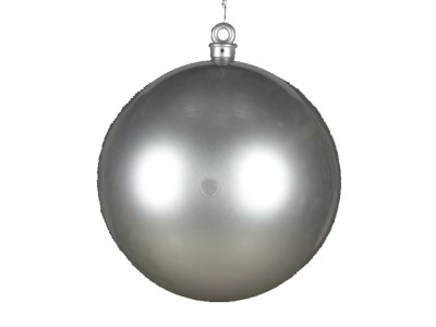 600MM Ball Ornament Red Glitter