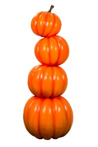WL-PKN-4ST-06 - 6' Stack of 4 of Pumpkins