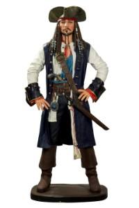 6' Jack Crow Pirate