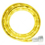 10MM 18' Spool of Yellow LED Ropelight