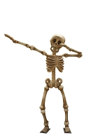 12' DABBING SKELETON