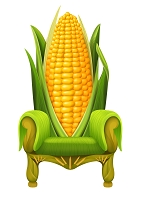 6' Corn Throne