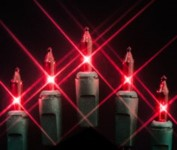 100 Red Incandescent Mini Lights 4