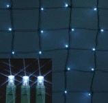 4'x6' LED Pure White Twinkle Net Light
