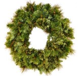 2' Blended Pine Wreath