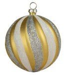 Silver & Gold Christmas Ornaments