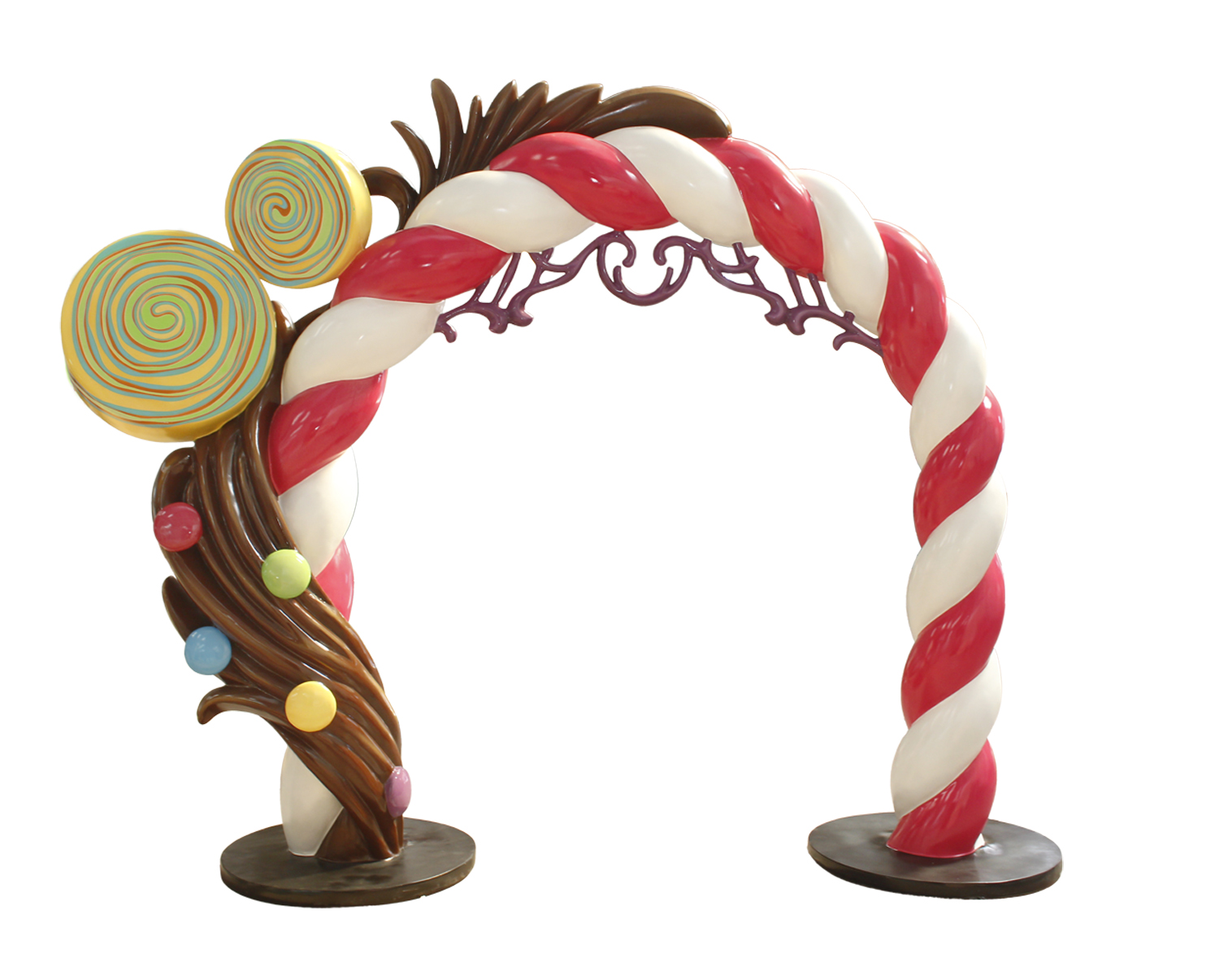 10' Candy Chocolate Arch