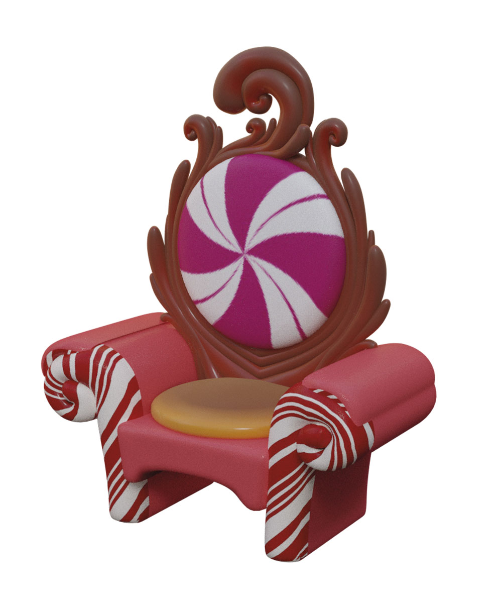 5' King Candy Throne
