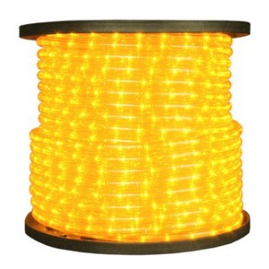 10MM 150' Spool of Yellow LED Ropelight