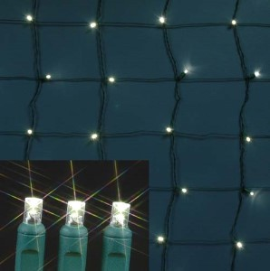 4 x 6 LED Warm White Net Light