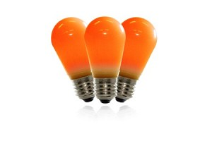 T50 Frosted Orange LED Replacement Bulbs