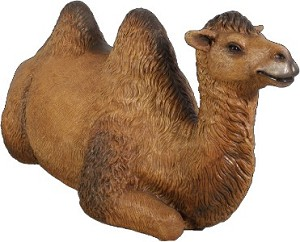 WL-LLCML-RST- Life Size Camel Lying Down