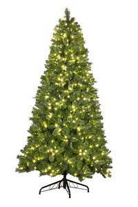 WL-TRBM-06-LWW - 6' Pre-Lit Warm White Mixed Blend Tree