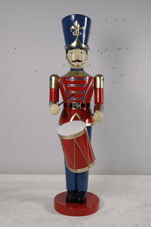 TOY SOLDIER WITH DRUM 6'