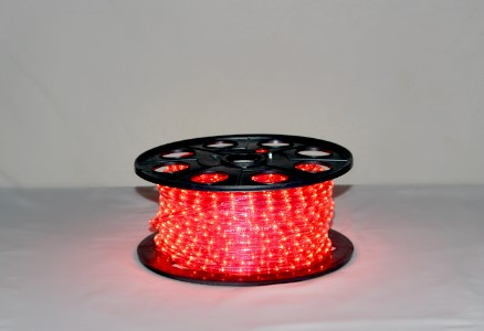 10MM 150' Spool of Pink Incandescent Ropelight