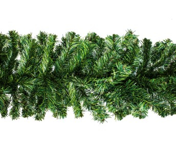 9' Pine Garland with 200 Tips