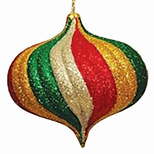 Shatterproof Ornaments - Traditional Christmas Balls, Onions & Finials