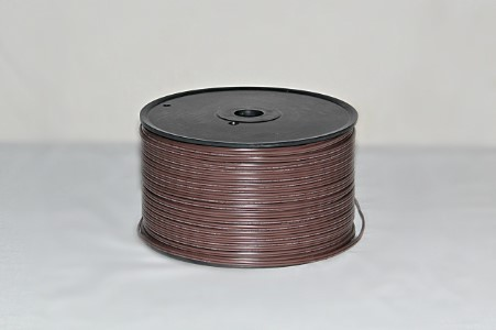 500' Spool of SPT-1 Brown Zipcord