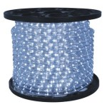 10MM 150' Pure White LED Ropelight 2 Wire 12 Volt