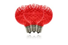 G50 Red Dimmable Replacement Bulbs