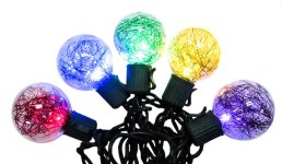 10 G40 Multi-colored LED Lights with Tensal