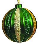 100MM Green, Red, Silver, Gold Ornament Ball
