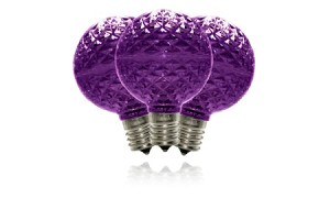 G50 Purple Dimmable Replacement Bulbs
