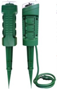 Outlet Photocell Ground Stake